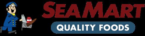 A logo of Sea Mart Quality Foods